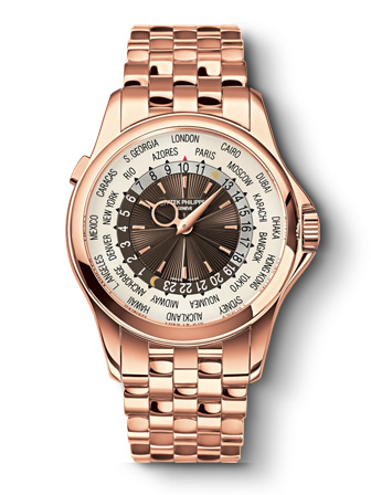 World Time-Patek Philippe Ref. 5130R