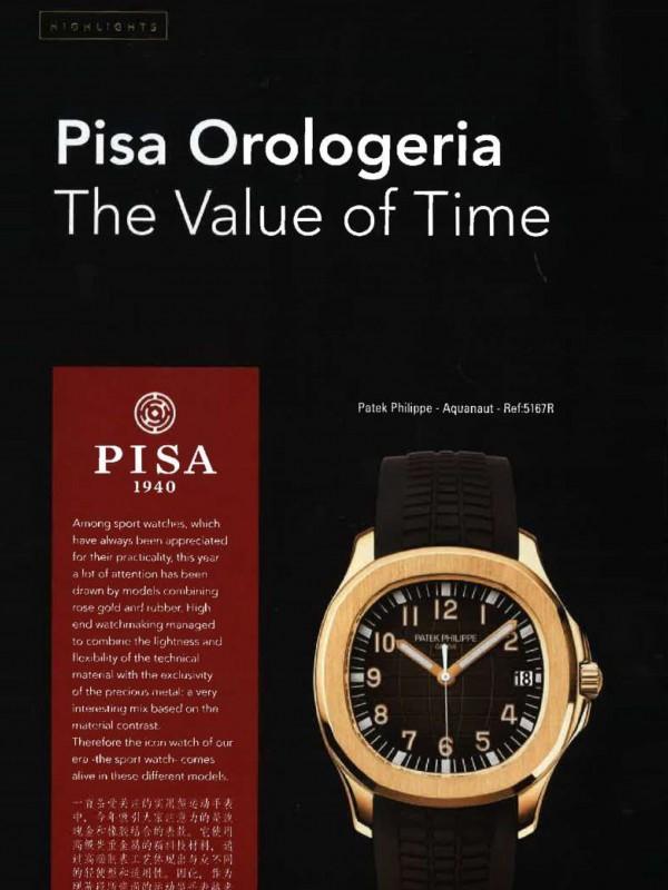 """""""Pisa Orologeria – The Value of Time"""" – MILANO CONCIERGE"""