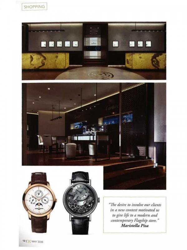 """A milanese palace for Haute Horlogerie"" – MILANO CONCIERGE"