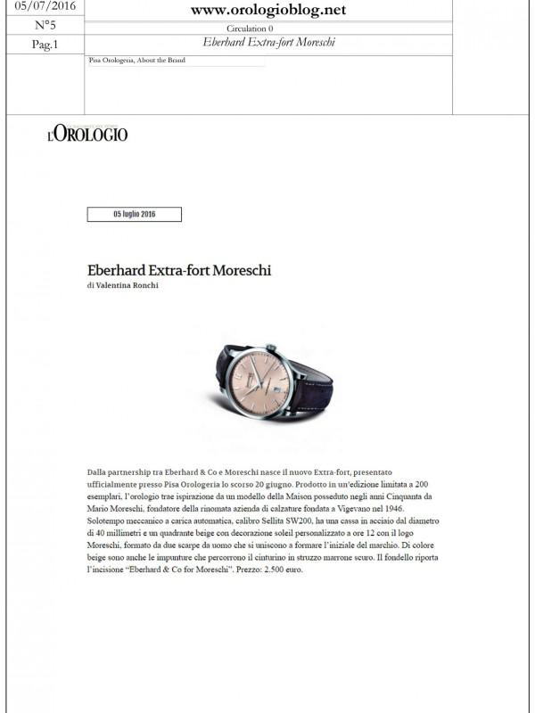 """Eberhard Extra-fort Moreschi"" – OROLOGIOBLOG.NET"