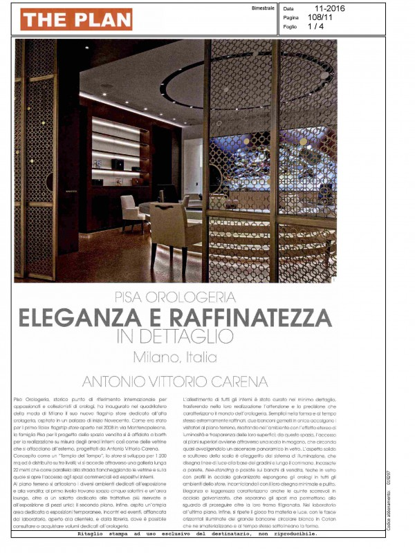 """""""Elegance and refinement"""" – THE PLAN"""