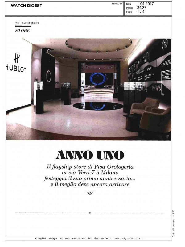 """""""Anno uno"""" – WATCH DIGEST"""
