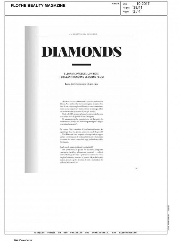 """Diamonds"" – FLO THE BEAUTY MAGAZINE"