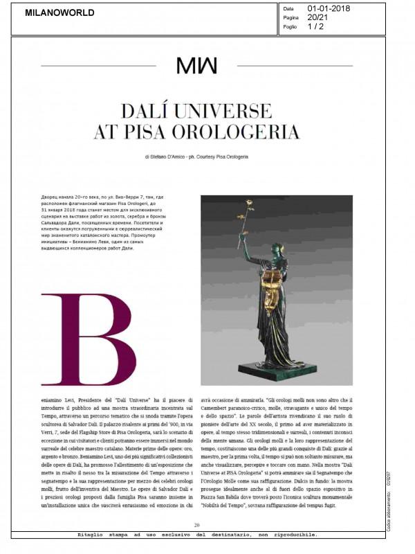 """Dalí Universe at Pisa Orologeria"" – MILANOWORLD"