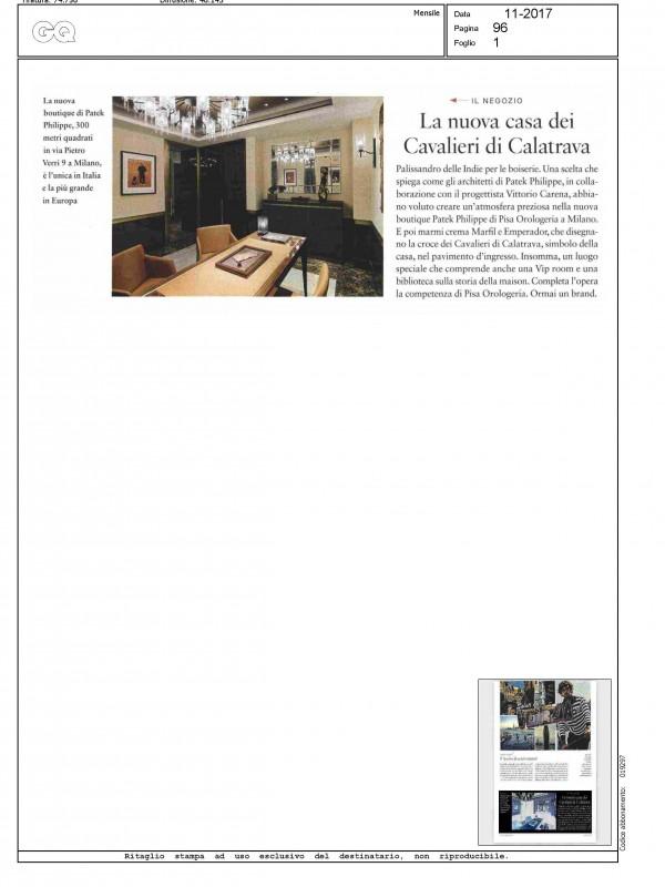 """""""La nuova casa dei cavalieri di Calatrava"""" – GQ"""