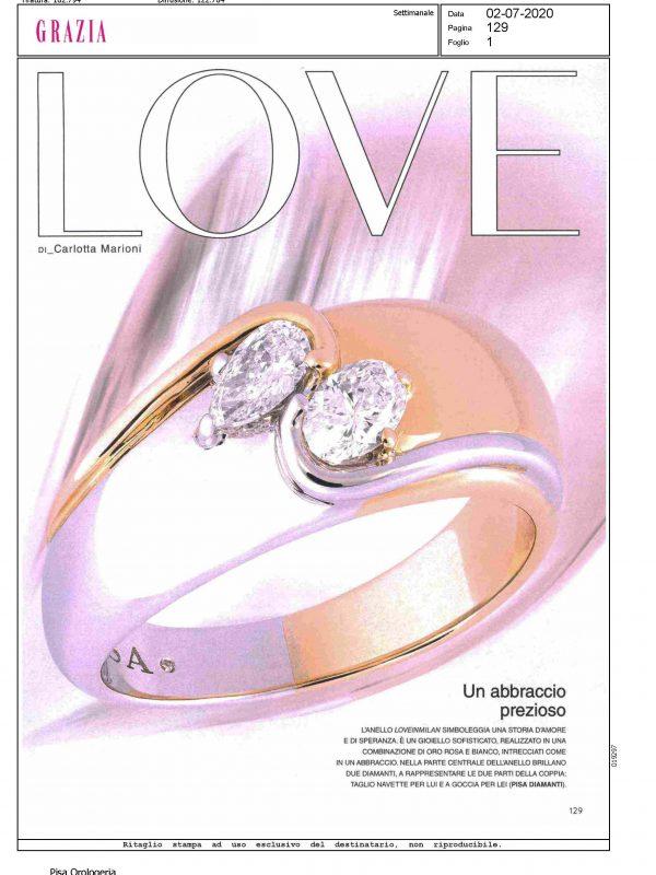 """""""Love"""" – GRAZIA"""