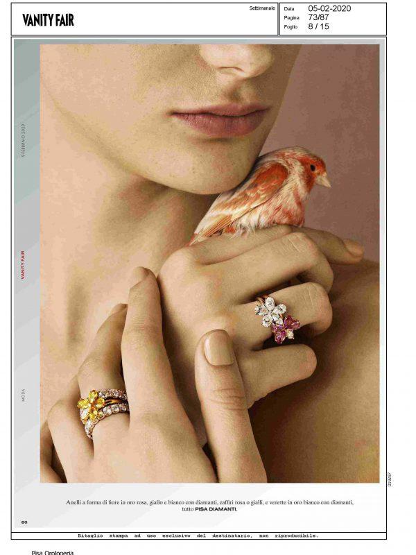 """""""Pisa Diamanti"""" – VANITY FAIR"""